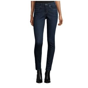 Eileen Fisher dark wash organic cotton jeans